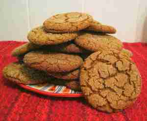 Molasses cookies - 1
