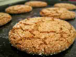 Molasses cookies - 4